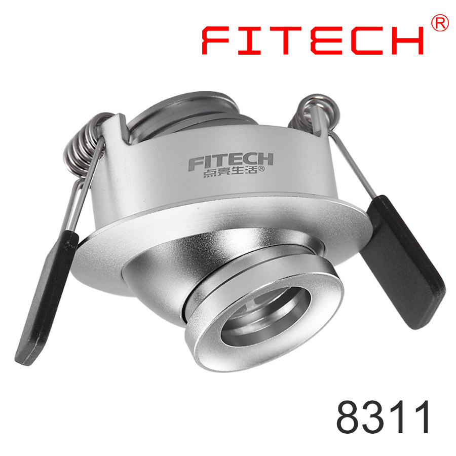 fitech 8311 high quality focusable led under cabinet lighting with